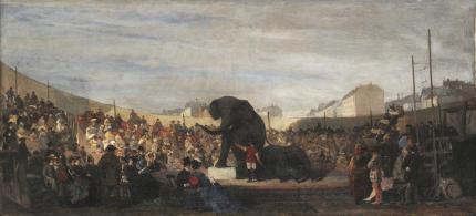 Πανηγύρι στο Μόναχο, 1876